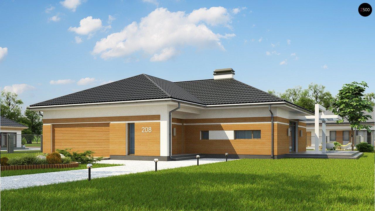 Проект будинку Z208 A - 1