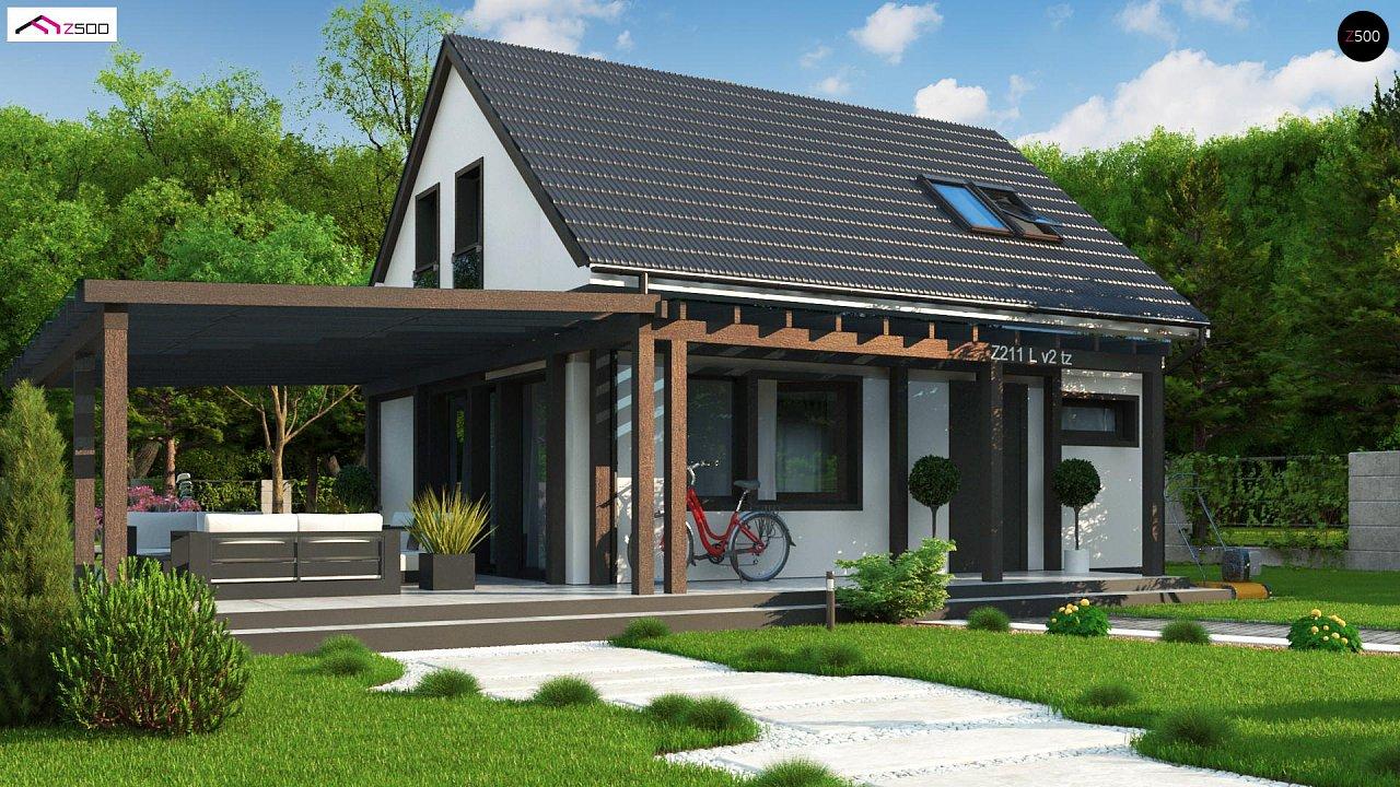 Проект будинку Z211 v2 tz - 1
