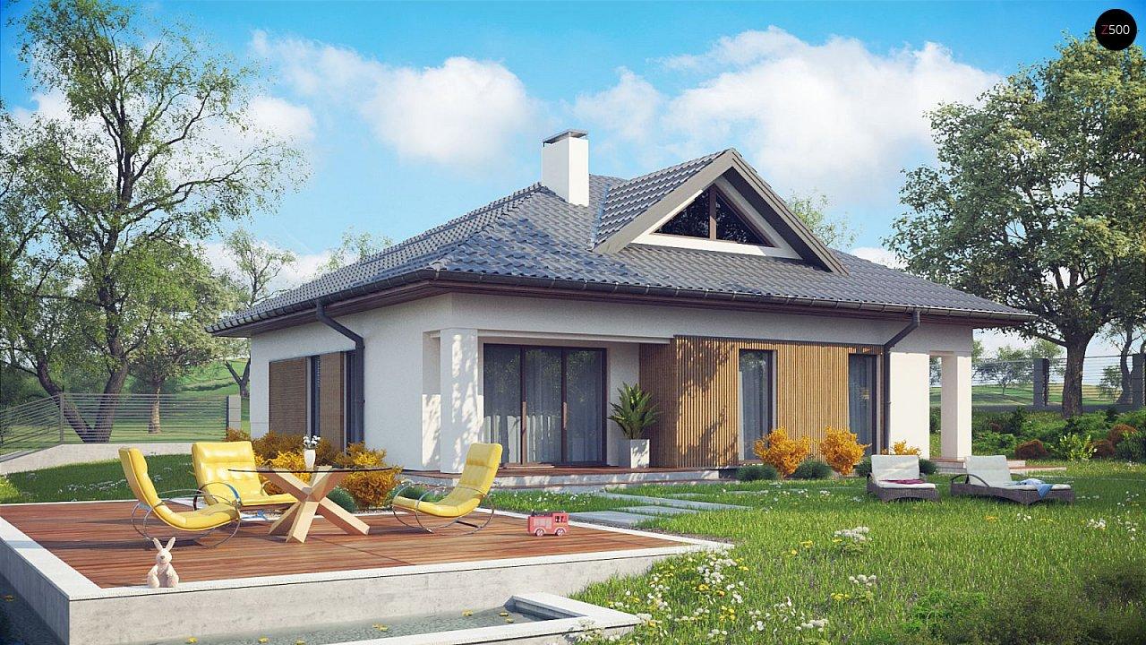 Проект будинку Z230 v1 - 1