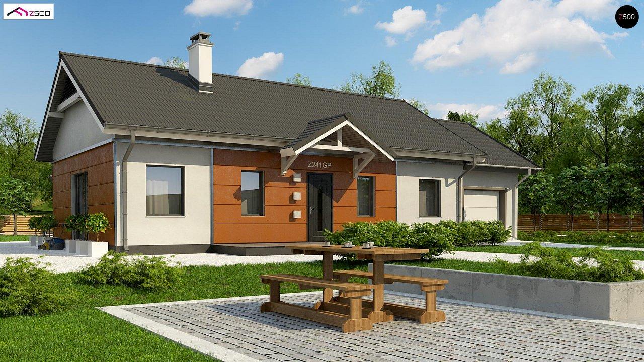 Проект будинку Z241 GP HB - 1