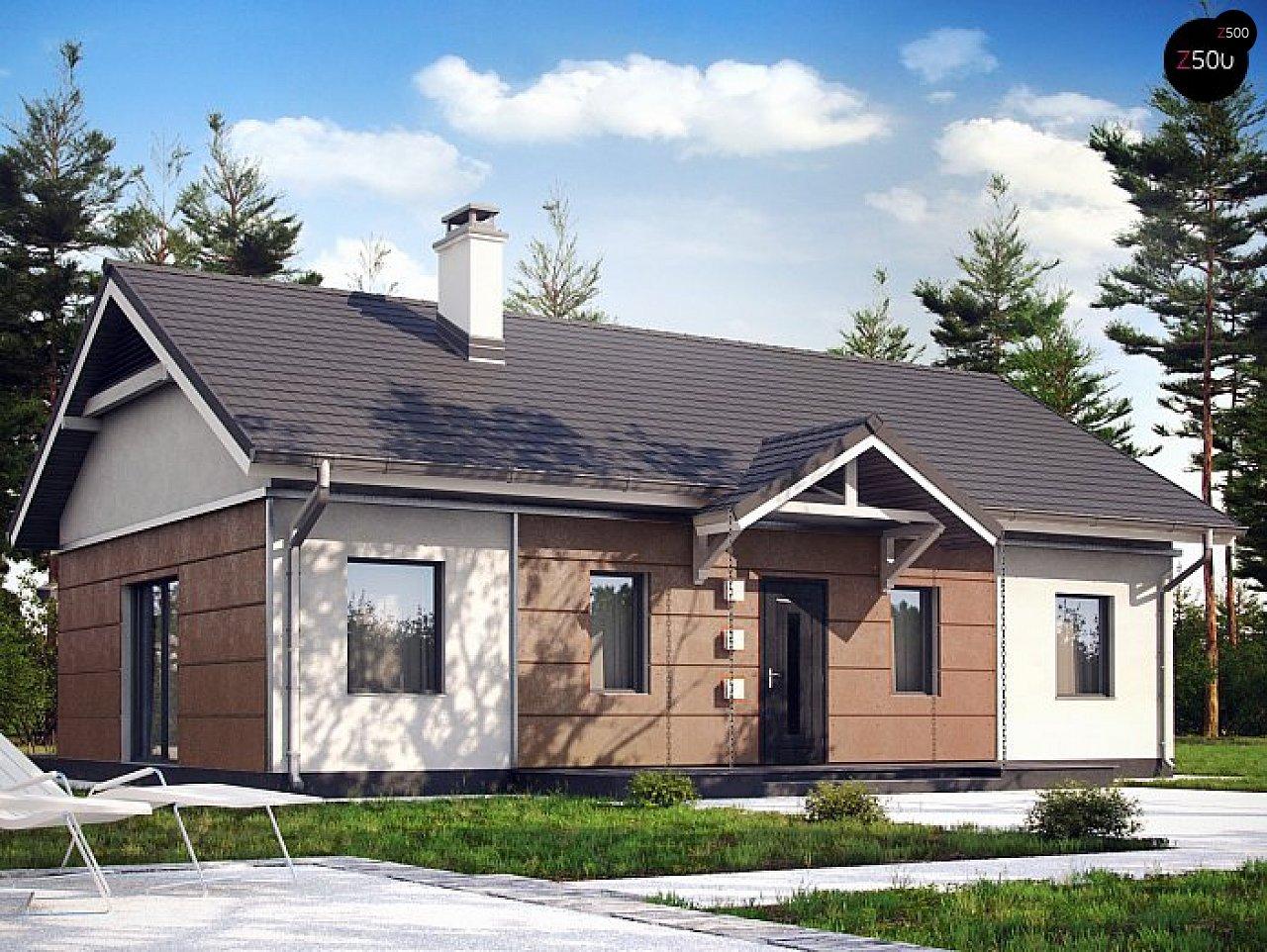 Проект будинку Z241 S - 1