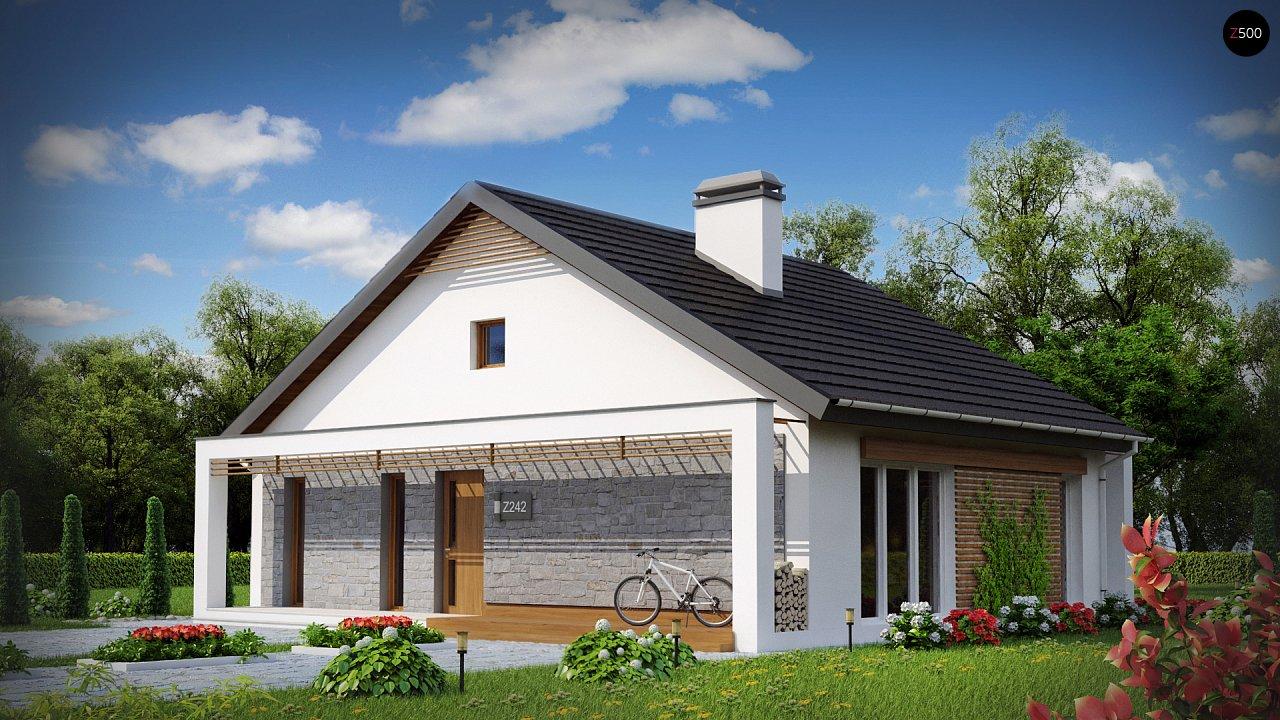 Проект будинку Z242 - 1