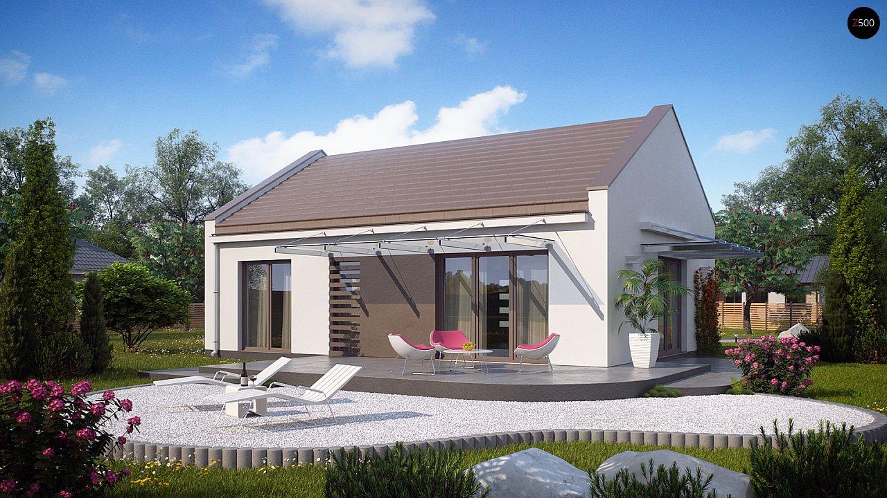 Проект будинку Z252 - 1