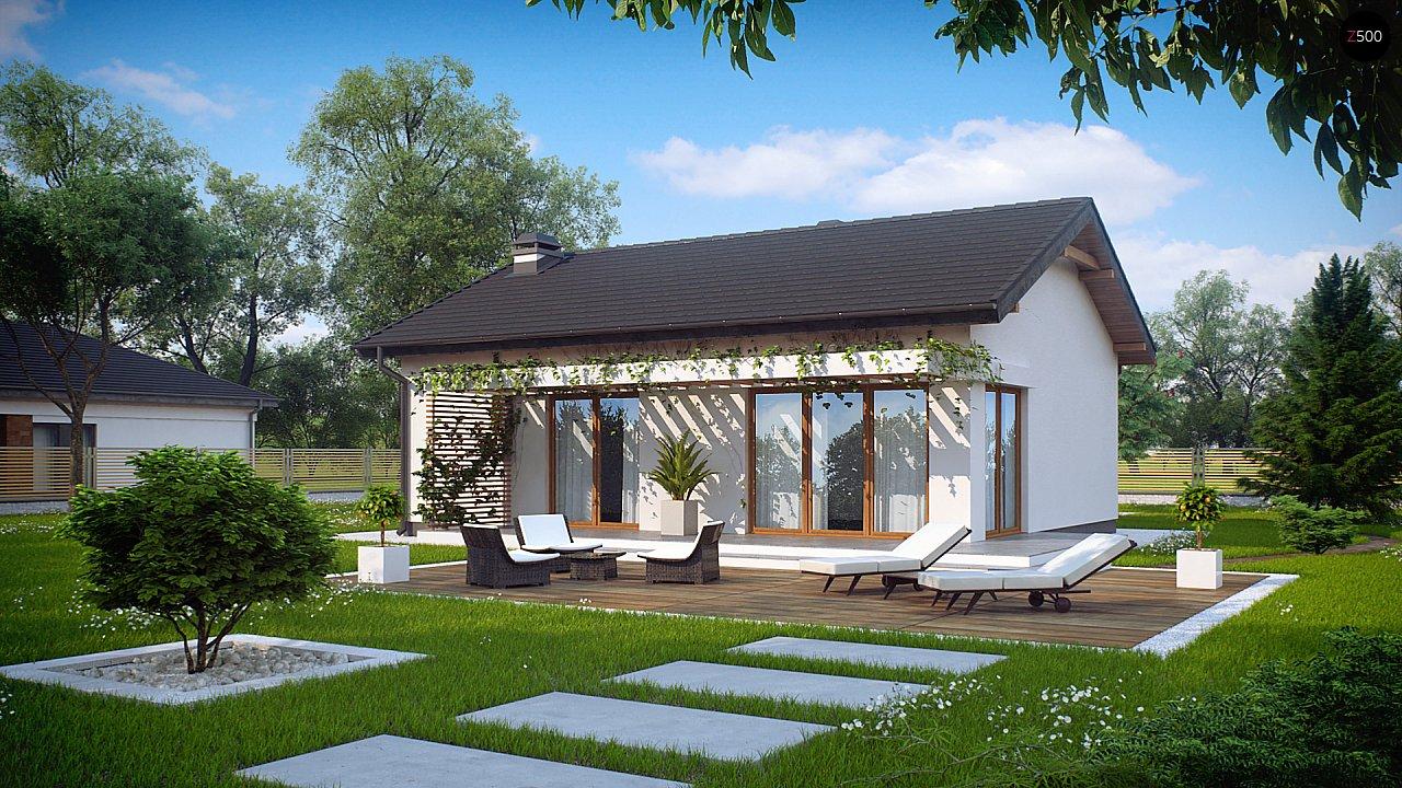 Проект будинку Z254 - 1