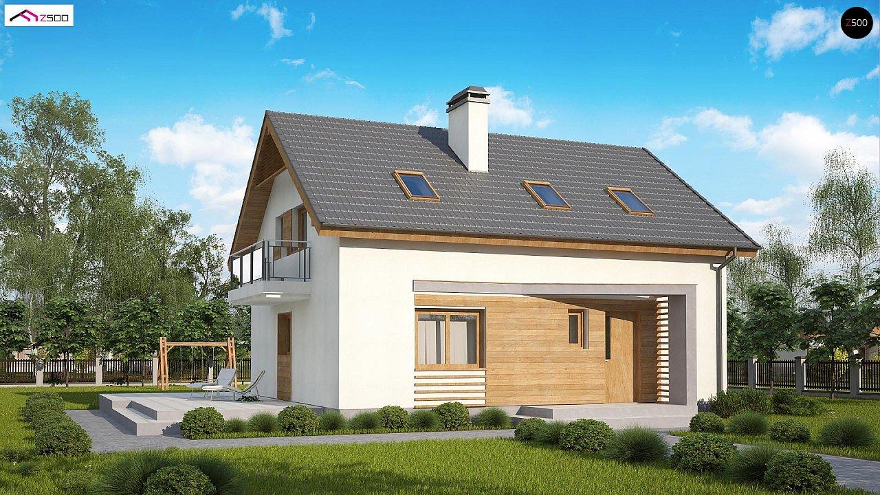 Проект будинку Z255 B pc - 1