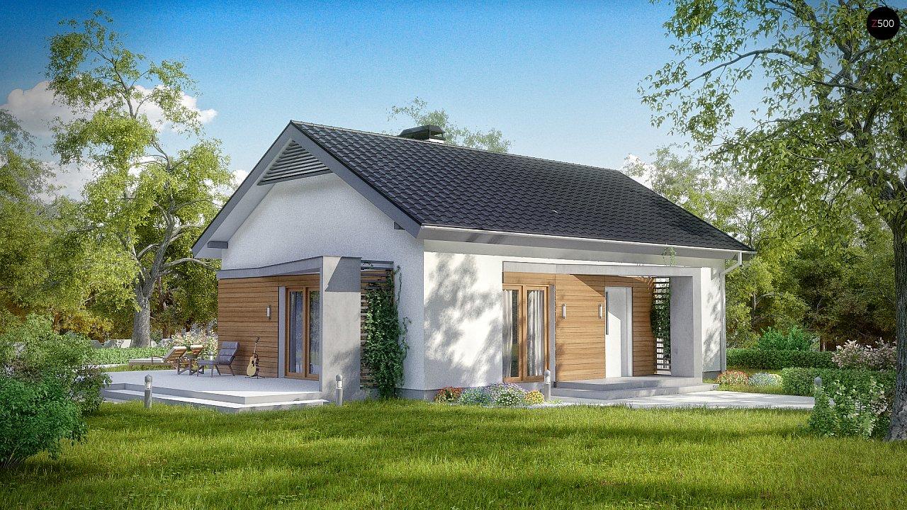 Проект будинку Z255 - 1