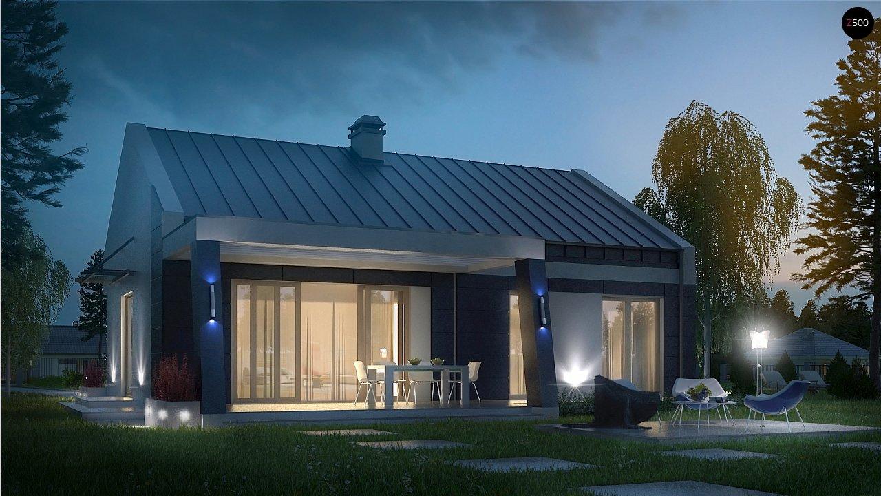 Проект будинку Z256 - 1