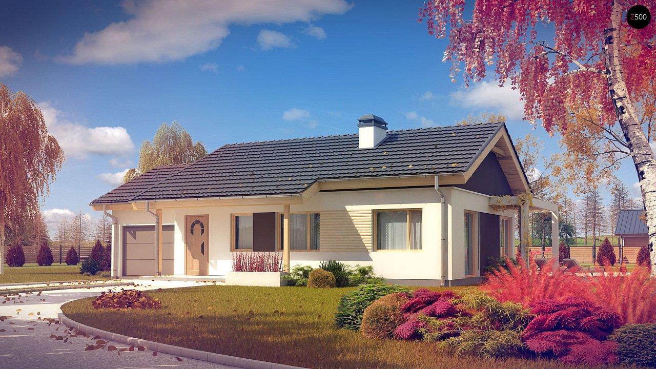 Проект будинку Z259 - 1