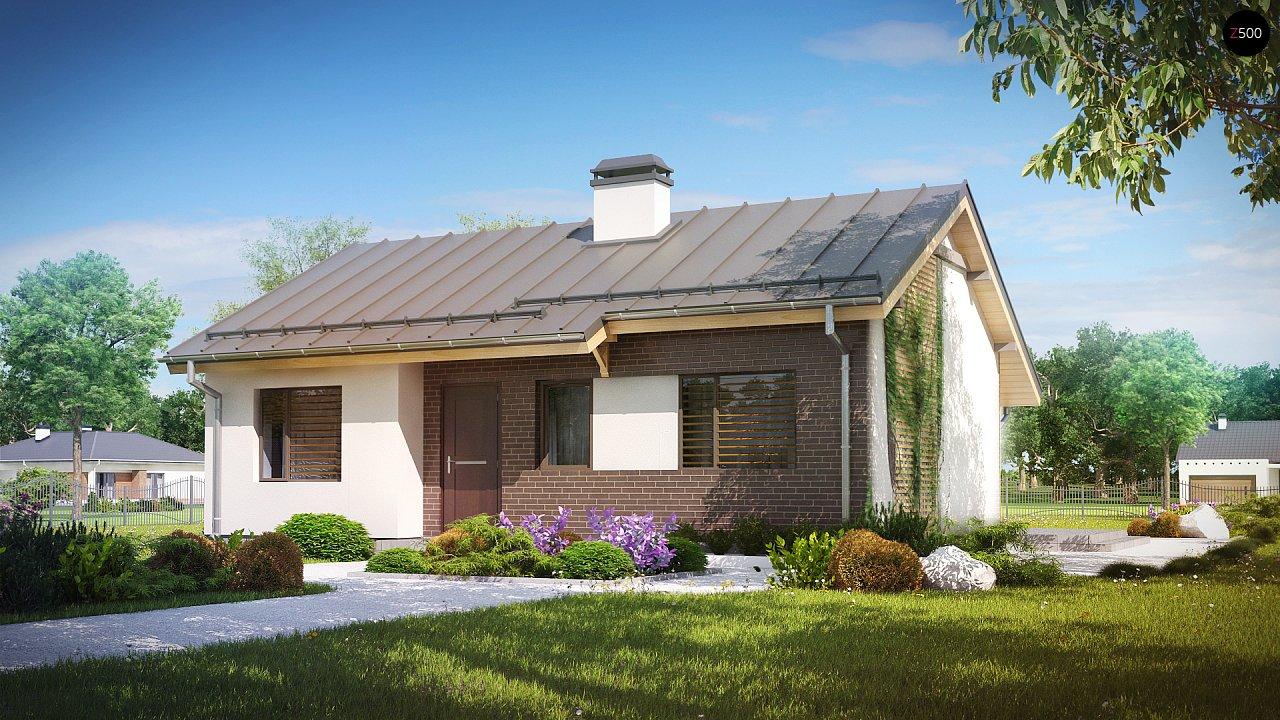 Проект будинку Z262 - 1