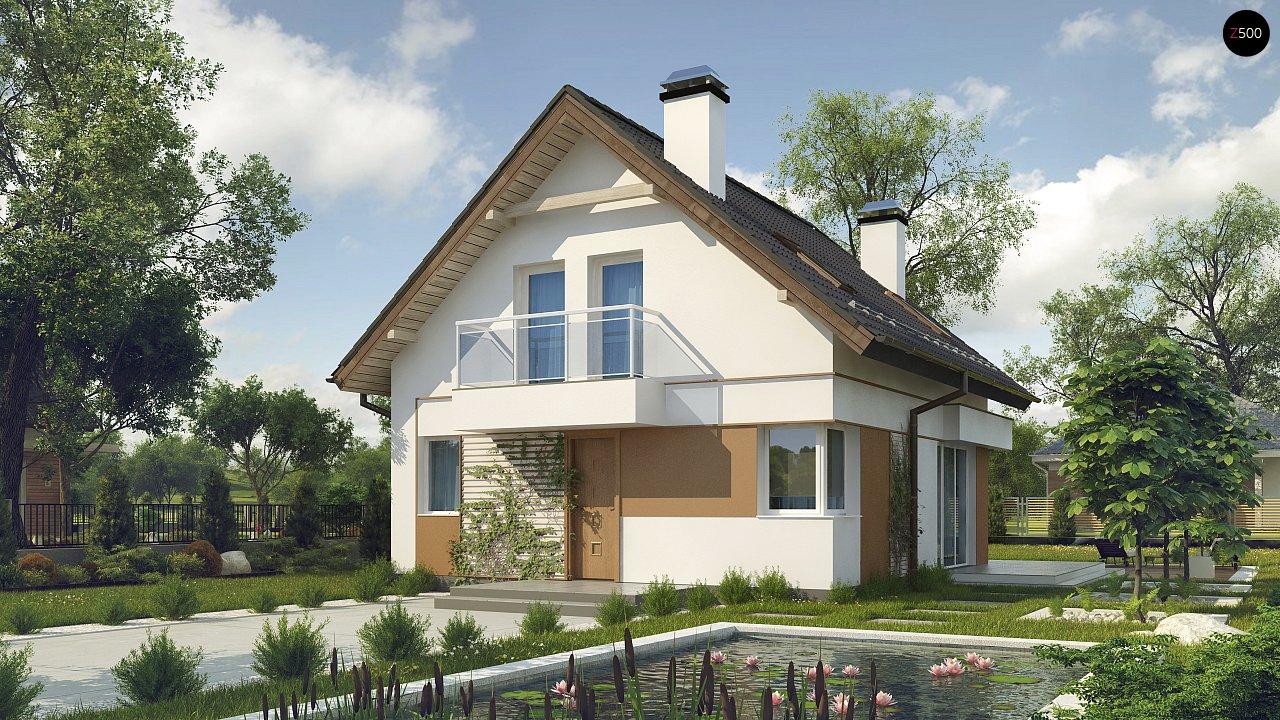 Проект будинку Z265 - 1