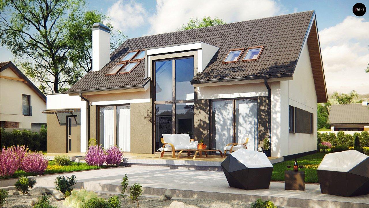 Проект будинку Z266 - 1