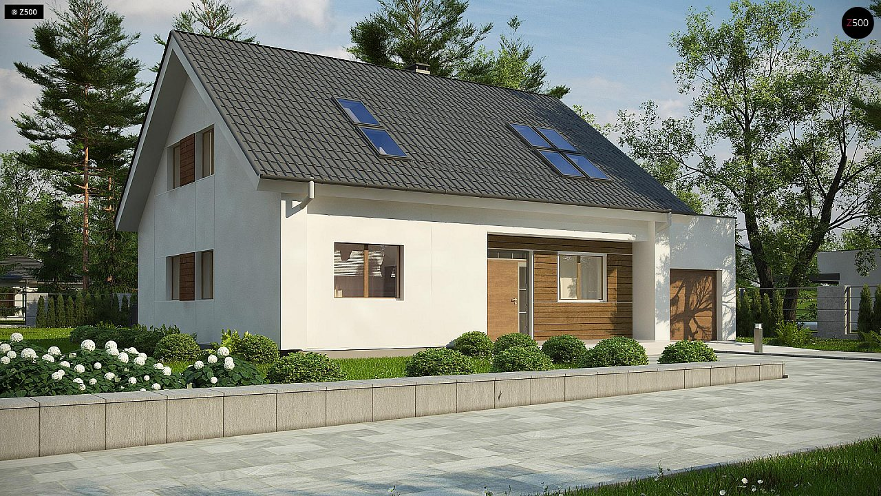 Проект будинку Z266 A - 1