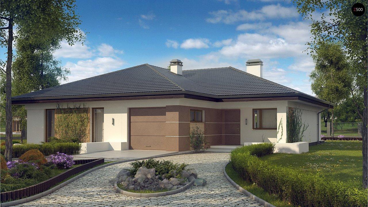 Проект будинку Z268 - 1