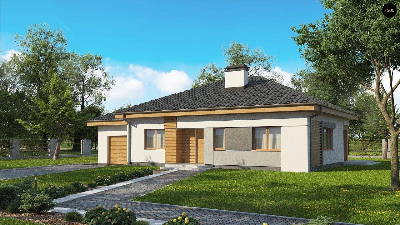 Проект будинку Z273 a L GL - 1