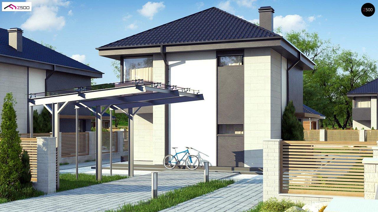 Проект будинку Z276 - 1