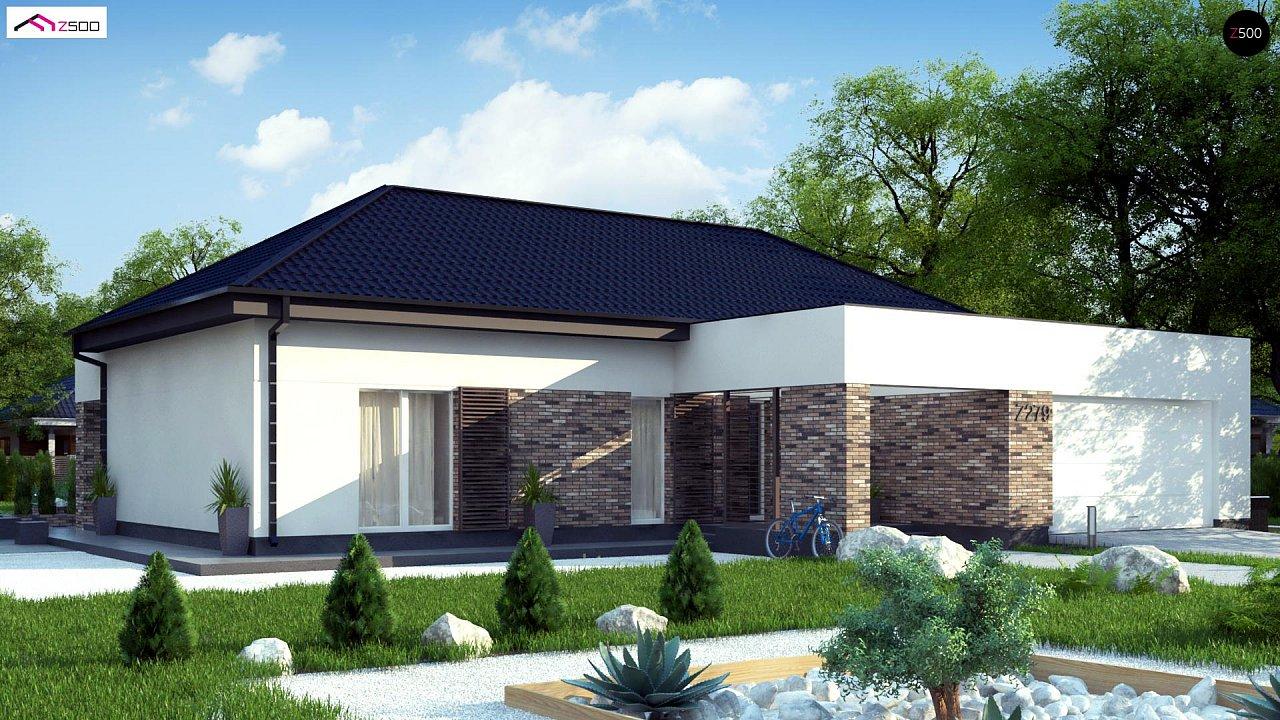 Проект будинку Z277 - 1