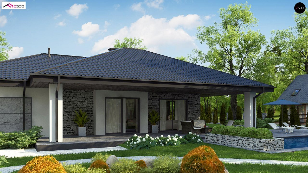 Проект будинку Z279 - 1