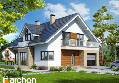Проект будинку Будинок в тим'яні 5 TERMO вер.2 у Києві