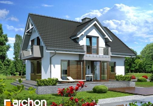 Проект будинку Будинок в рододендронах 5 (H) вер.2 у Києві