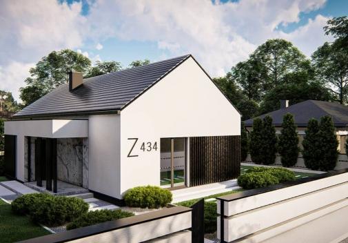 Проект будинку Z434 в Киеве