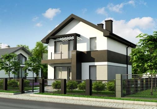 Проект будинку Z372 pk в Киеве