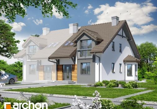 Проект будинку Будинок в дельфініумі 2 вер.2 у Києві