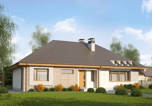 Проект будинку Z140 v1 у Києві