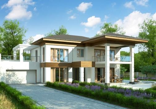 Проект будинку Zz201 у Києві