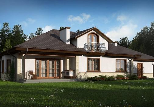 Проект будинку Z10 GL2 STU bk в Киеве
