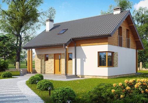 Проект будинку Z210 v1 в Киеве