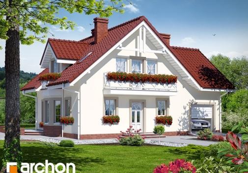 Проект будинку Будинок в рододендронах 2 TERMO вер.2 у Києві