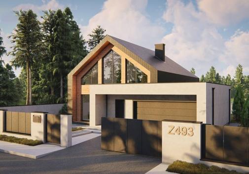 Проект будинку Z493 в Киеве