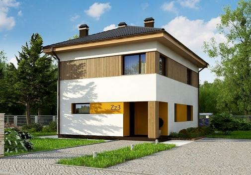 Проект будинку з трьома санвузлами в Києві