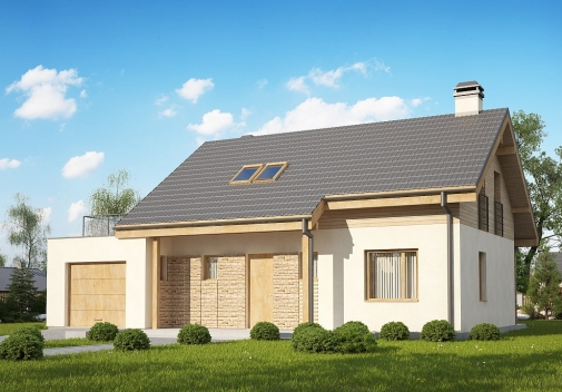 Проект будинку Z210 GLt в Киеве