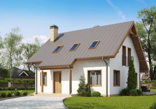 Проект будинку Z162 v3 у Києві