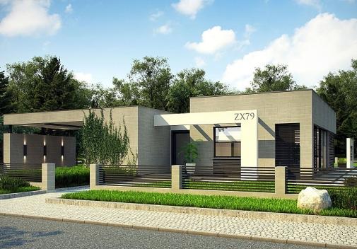 Проект будинку Zx79 в Киеве