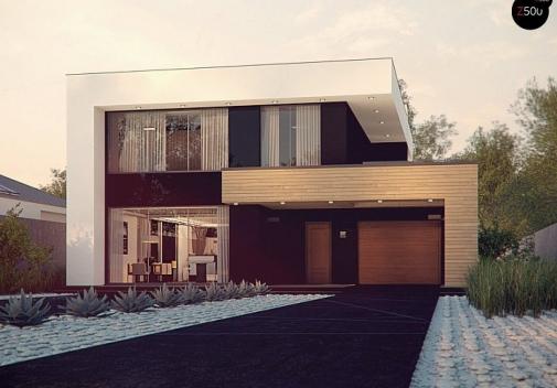 Проект будинку Zx123 P в Киеве