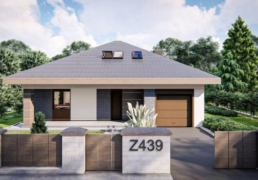 Проект будинку Z439 в Киеве