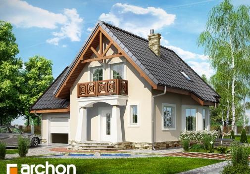 Проект будинку Будинок у винограді 2 вер.2 у Києві