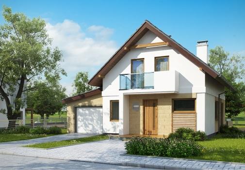 Проект будинку Z177 GL в Киеве