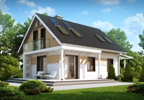 Проект будинку Z216 в Киеве