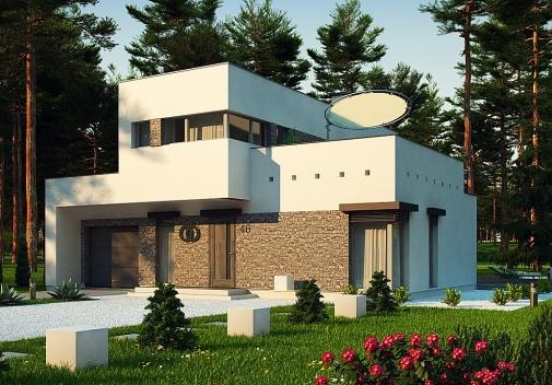 Проект будинку Zx46 minus у Києві