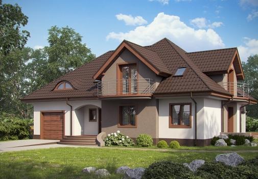 Проект будинку Z18 GL bk в Киеве