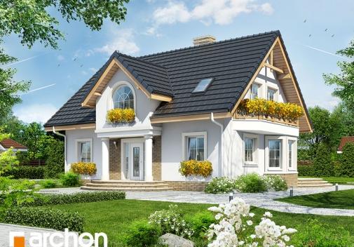 Проект будинку Будинок в мірабеллі вер.2 у Києві