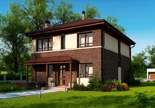 Проект будинку Zx24 a pk в Киеве