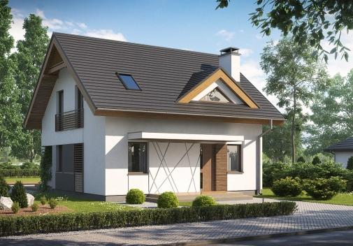 Проект будинку Z163 V1 в Киеве