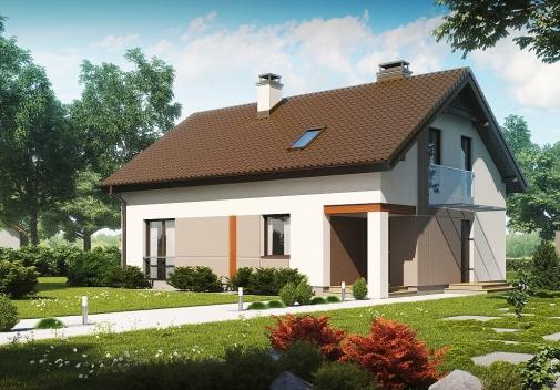 Проект будинку Z228 у Києві