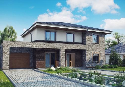 Проект будинку Zx109 P у Києві