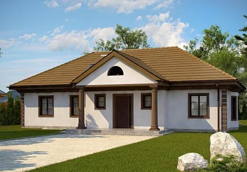 Проект будинку Z2 + w p у Києві