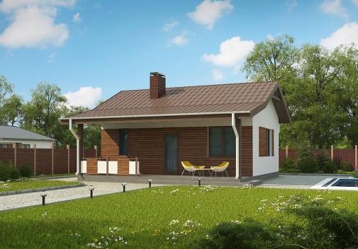 Проект будинку Zp1 в Киеве